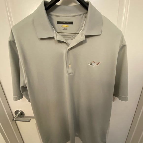 Greg Norman Dri-Fit golf shirt